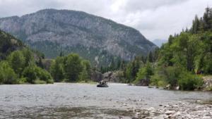 Sun River float